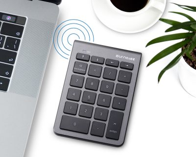 Black Back Light Numeric Keypad Full Size 19 Key Portable Multi-Function Number Pad for Laptop Desktop Computer PC Notebook SurnQiee USB Wired keypad 3 Colors Backlit Keyboard